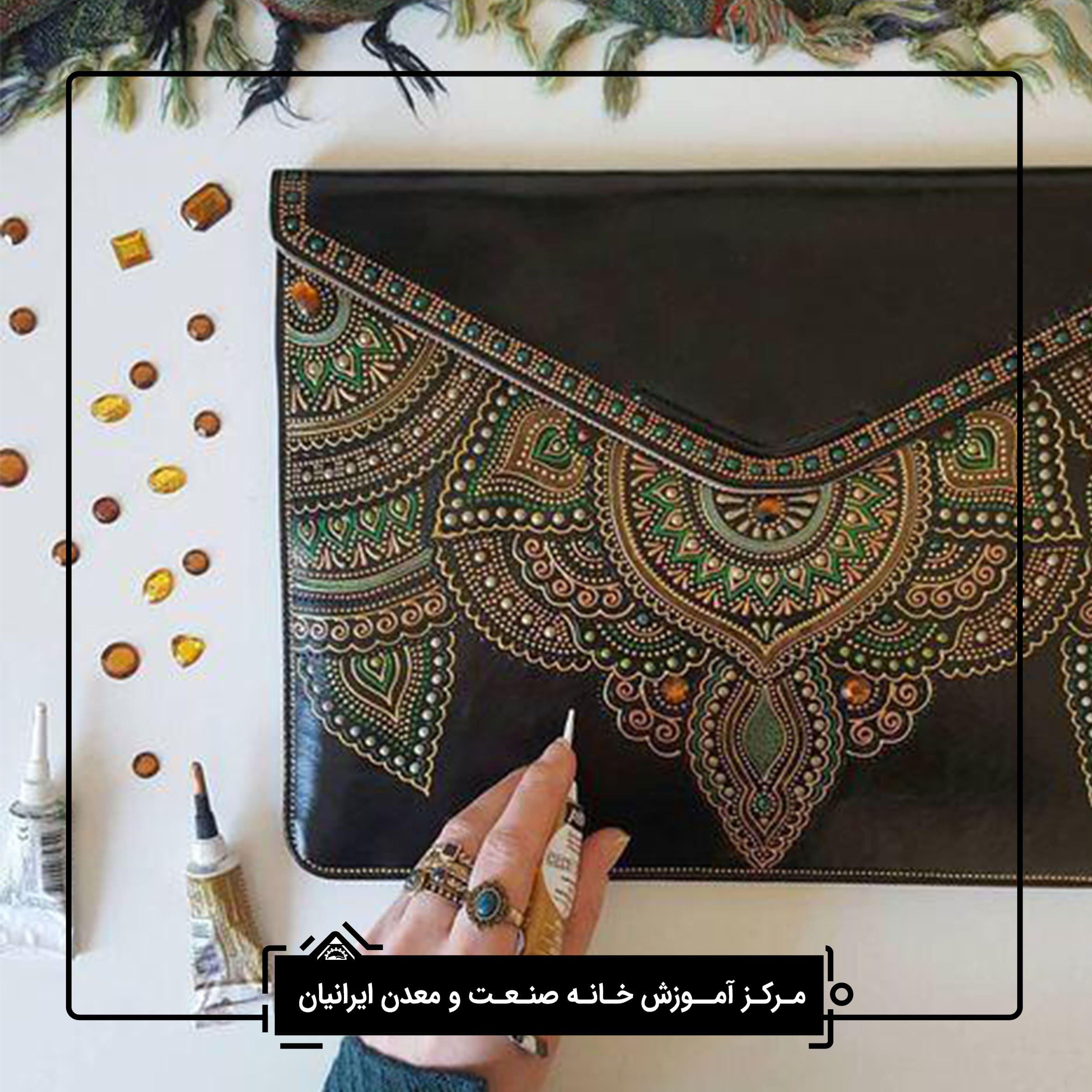 نقطه کوب در شیراز - کارگاه صنایع دستی در شیراز