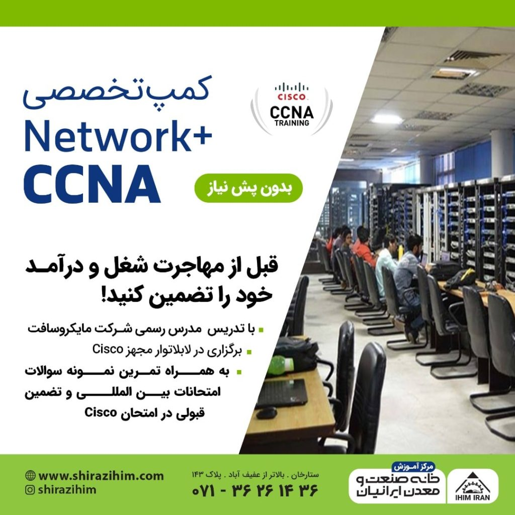 فشرده شبکه در شیراز 1024x1024 - دوره فشرده شبکه در شیراز